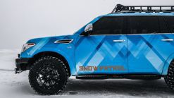 Nissan Armada Snow Patrol Quick Spin Review | All hail the winter king
