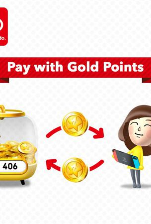 Nintendo Gold Points Can Soon Be Used For Nintendo Switch Game Discounts