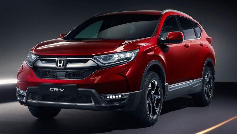 Euro-Spec Honda CR-V Arrives With Hybrid And 7-Seat Options