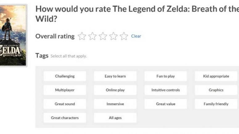 Gamers Can Now Post Reviews Of Switch Games On Nintendo's Website