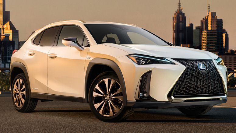 Lexus UX Shows Up Early For Its Curtain Call
