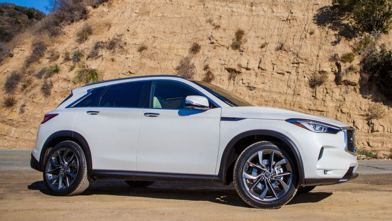 2019 Infiniti QX50 vs. compact luxury SUV rivals: How they compare