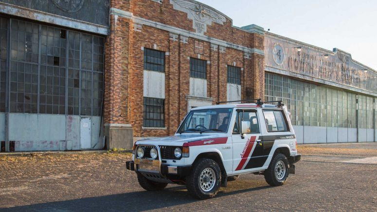 1988 Pajero 'Paris-Dakar' Special Comes From Mitsubishi's Glory Days In Rally Raids