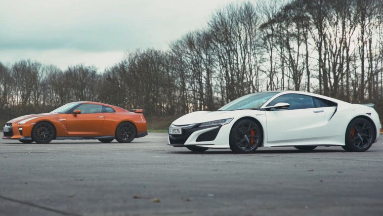 Has The Nissan GT-R Met Its Match With The Honda NSX?
