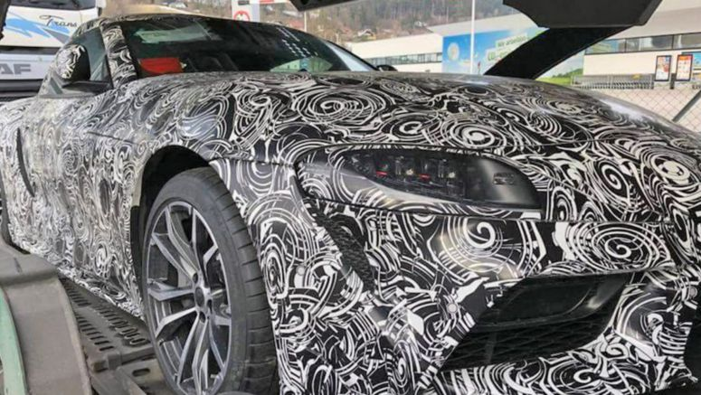 2019 Toyota Supra Spied Showing New Details