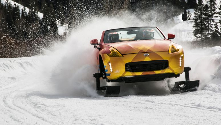 Nissan 370Zki Quick Spin Review | Snow, ice and a fury of thunder