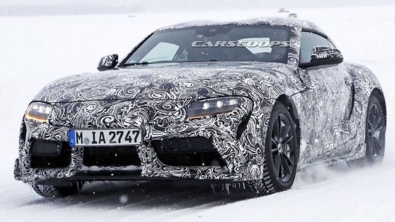 2019 Toyota Supra Strips For The Cameras; Do You Like What You See?