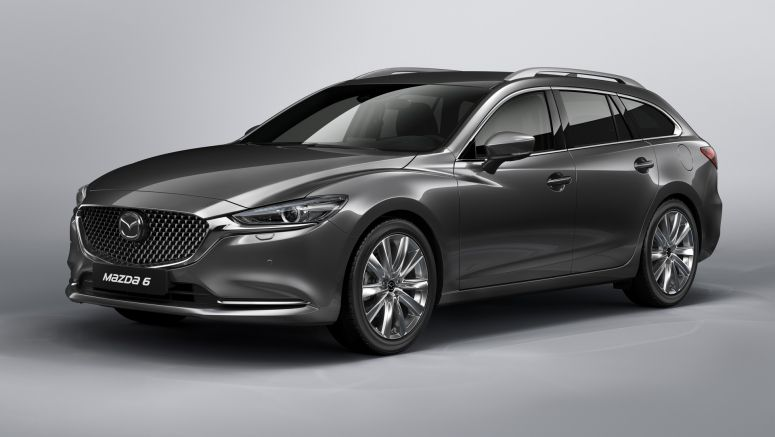 Updated Mazda6 Wagon to look lovely in Geneva