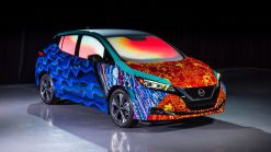 Nissan Shows Off Customized Leafs To Promote A Wrinkle in Time