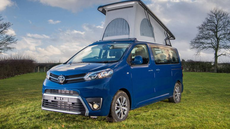 Toyota's New Proace Lerina Camper Van Is Your Home Away From Home