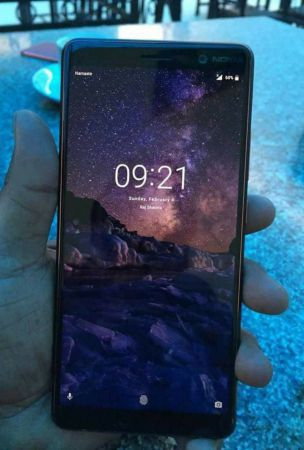 Nokia 7+ Shows Off Bezel-Less Display In Leaked Photo