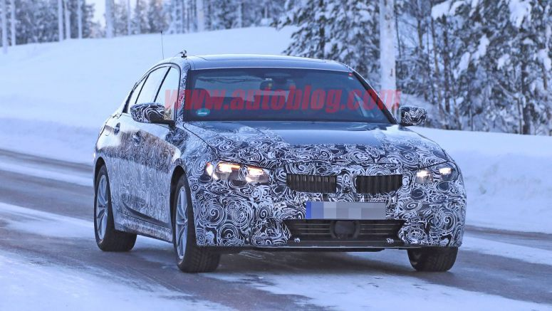 New BMW 3 Series spied testing with Z4, Toyota Supra and Porsche 911