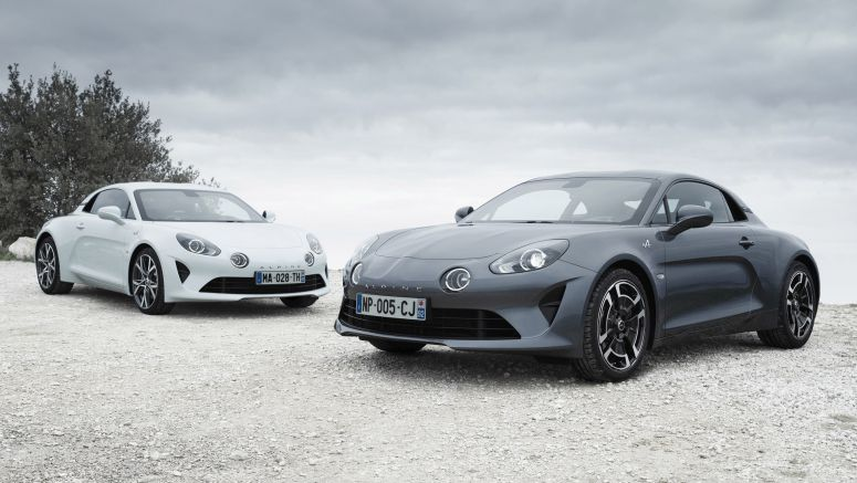 Alpine A110 looks lovely with new colors, wheels, trim levels
