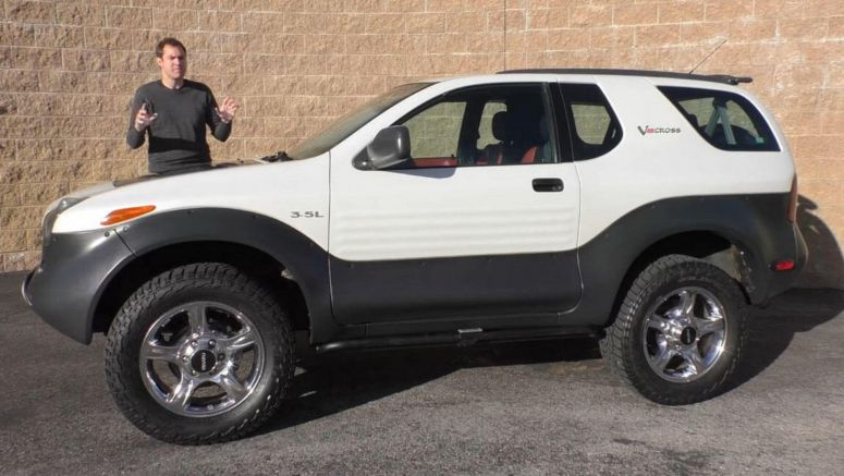 Isuzu's VehiCROSS Is A Suprisingly Bold SUV From The 1990s