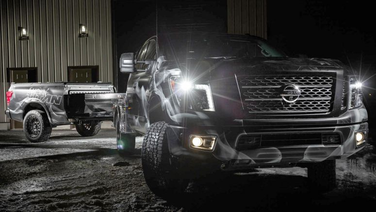 Nissan's Smokin' Titan Puts A BBQ On Wheels