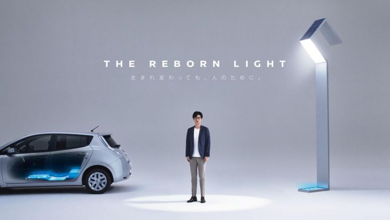 Nissan lights up a tsunami-damaged town with used Leaf batteries