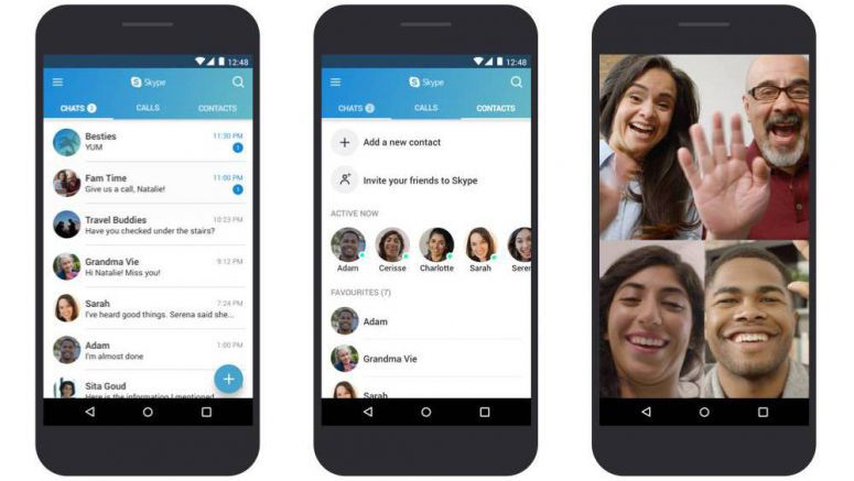 Skype For Android Optimized For Lower-End Devices