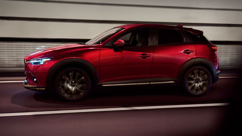 2019 Mazda CX-3 Takes Over New York With Electronic Parking Brake