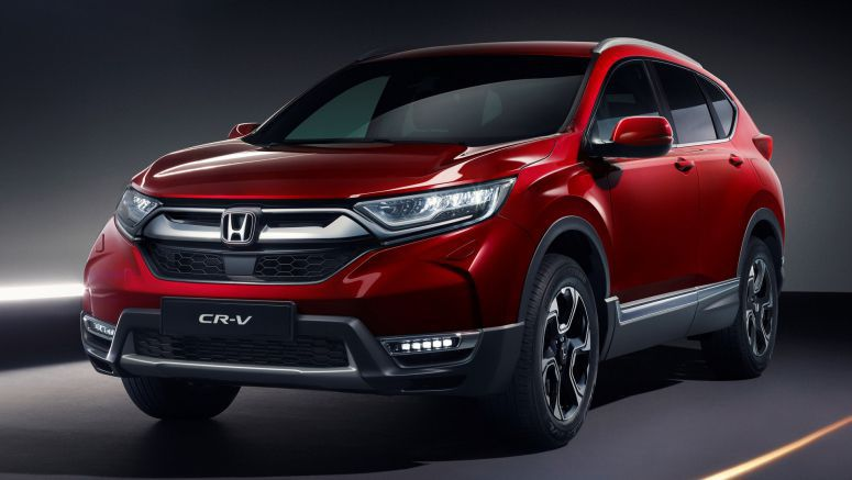 Honda CR-V getting a third row, hybrid release date at Geneva