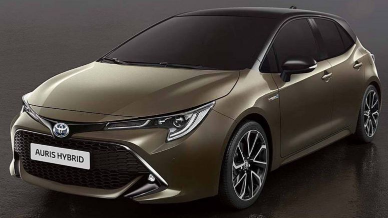 New Toyota Auris: First Image Surfaces As Engine Lineup Confirmed