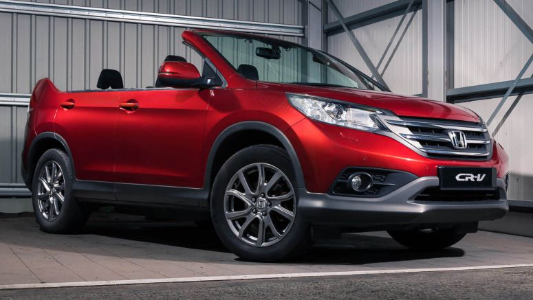 CR-V Roadster Is Honda's Idea Of An April Fools' Day Joke, VW Isn't Laughing