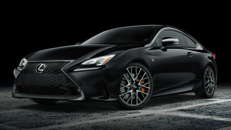 Lexus Brings 650 RC F Sport Black Line Special Editions To The U.S.
