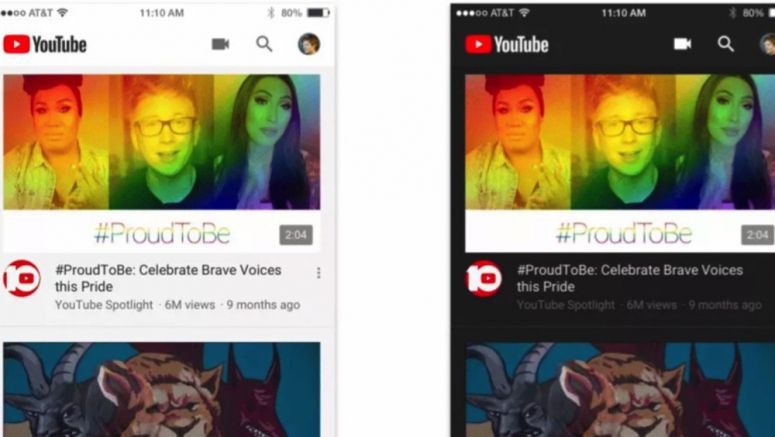 YouTube Dark Mode Coming To iOS And Android