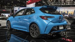 2019 Toyota Corolla Hatchback: Plastic hatch and other fun facts