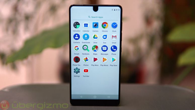 Essential Phone Android 8.1 Oreo Update Rolling Out