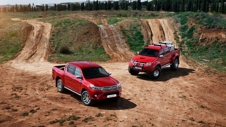 Toyota Hilux: Tough little truck turns 50