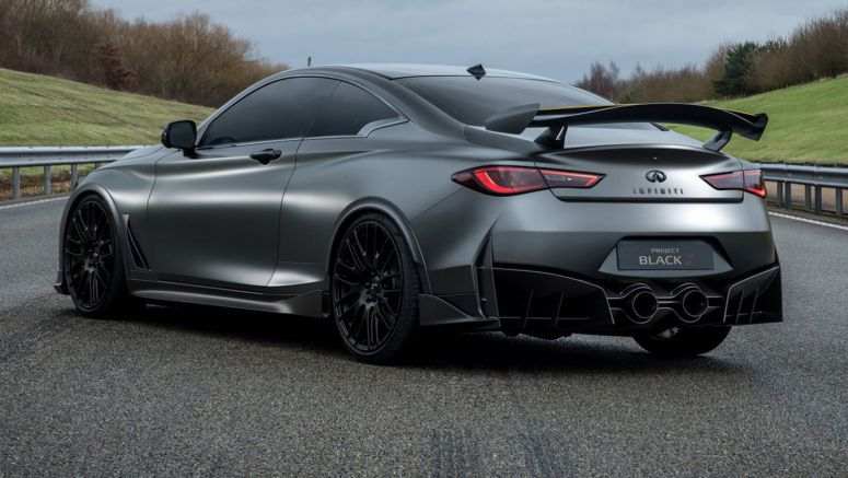 Infiniti Making Progress With Q60 Project Black S Hybrid Coupe