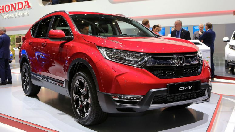 Euro-Spec 2018 Honda CR-V Arrives With Hybrid And 7-Seat Options