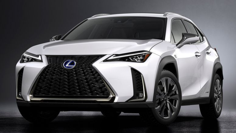 Lexus UX Joins The Compact Luxury Crossover Niche