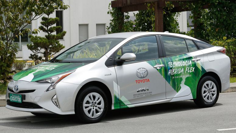 Toyota's Developing This Flex-Fuel Hybrid Prius In Brazil