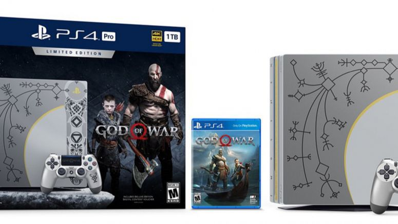 Sony Unveils Limited Edition God Of War PS4 Pro Bundle