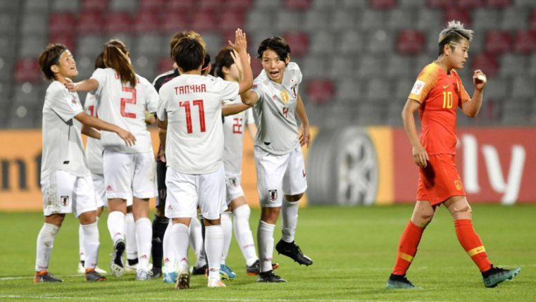 Soccer: Japan reach final of Women's Asian Cup