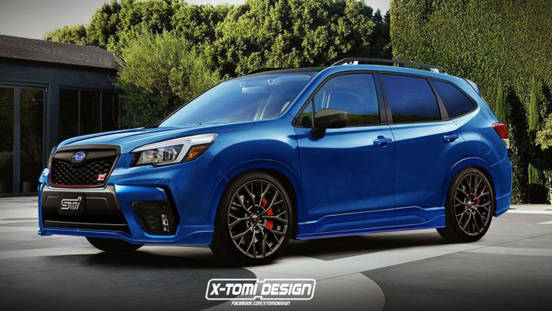 2019 Subaru Forester STI Rendering Has Us Licking Our Lips
