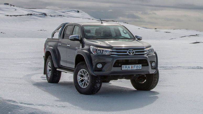 Toyota HiLux Gains Arctic Trucks AT35 Version For UK Explorers