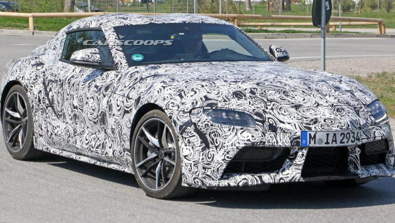 2019 Toyota Supra Sports Two-Tone Wheels In Latest Spy Photos