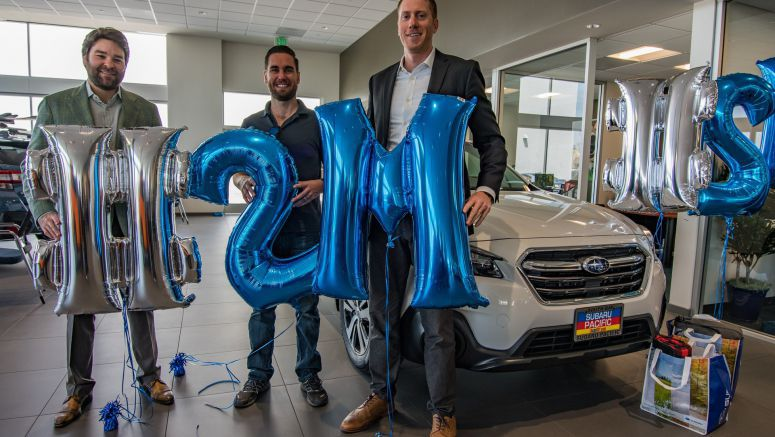 Subaru sells 2 millionth Outback in U.S.