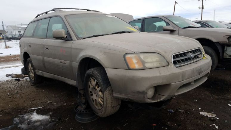 junkyard gem 2003 subaru legacy outback h6 3 0 auto. Black Bedroom Furniture Sets. Home Design Ideas