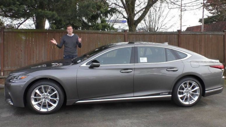 Why Would Anyone Fork Out $120,000 For A 2018 Lexus LS 500h?
