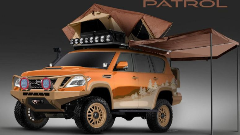 Nissan Armada Mountain Patrol Promised To Be The Ultimate Overlanding Vehicle