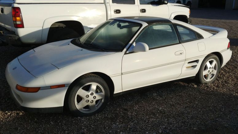 Guy Buys 1993 Toyota MR2 Turbo Garage Find With 1,461 Miles For Just $500!