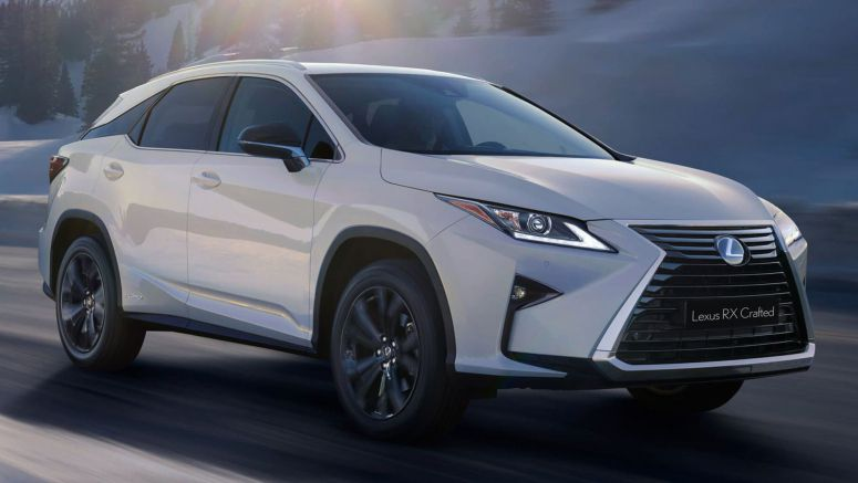Lexus RX Crafted Limited Edition Brings Extra Kit To Australia For AUD $81,351