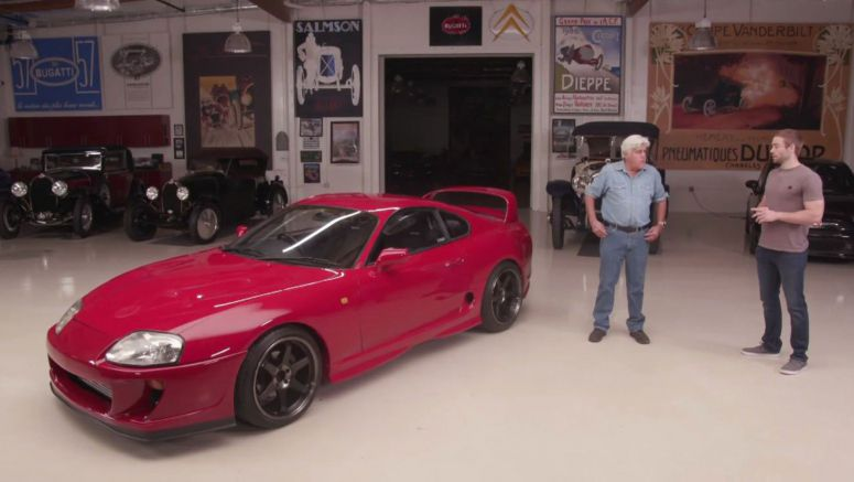 Paul Walker's Brother Brings A Lovely Toyota Supra To Jay Leno