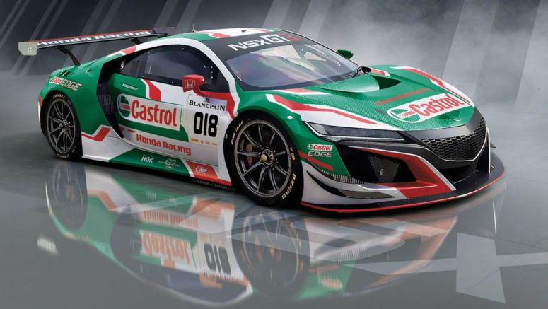Honda And Castrol Rekindle Endurance Racing Ties With NSX GT3