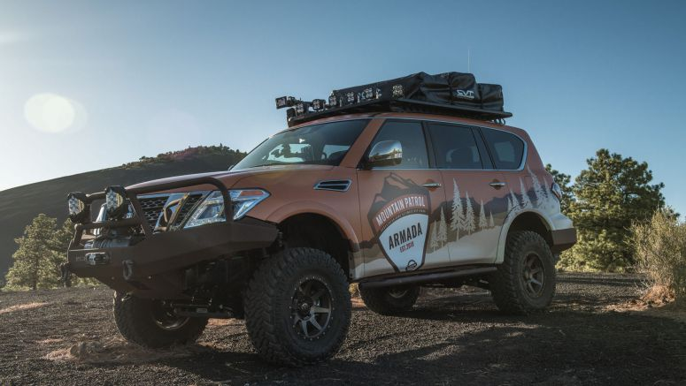 Nissan Armada Mountain Patrol welcomes overlanding season