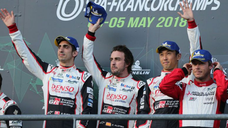 Fernando Alonso Claims Victory At 6 Hours Of Spa With Toyota