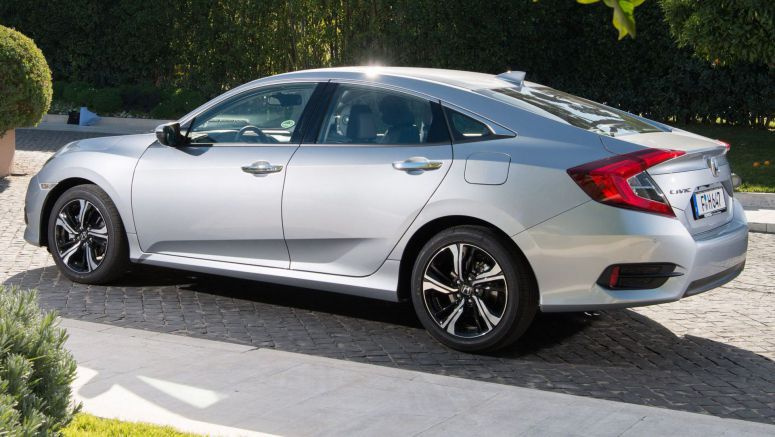 Honda Civic Saloon Becomes Available In The UK For The First Time